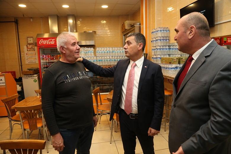 Gölbaşı Belediye Başkanı Şimşek'ten esnafın yüzünü güldürecek müjde