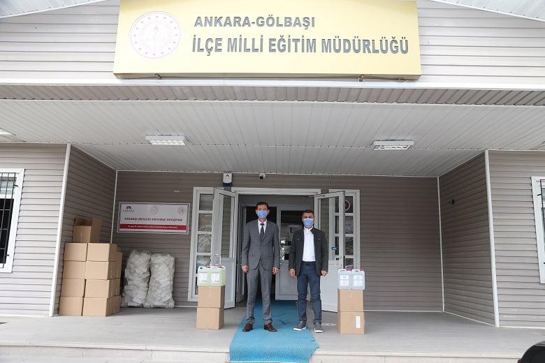 Başkan Şimşek'ten temiz okullar için destek