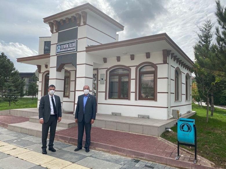 Pursaklar'da Muhtarlara Modern Binalar