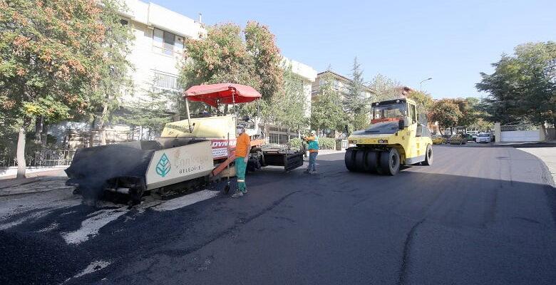 Çankaya'da Asfalt Çalışmaları Tam Gaz