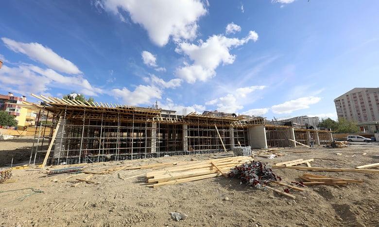 Çankaya'nın Yeni Hizmet Binası Yükseliyor