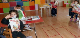 Çankaya'dan Köy Çocuklarına Kırtasiye Desteği