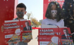 Çankayalı Çocuklar Cumhuriyet'i Resmetti