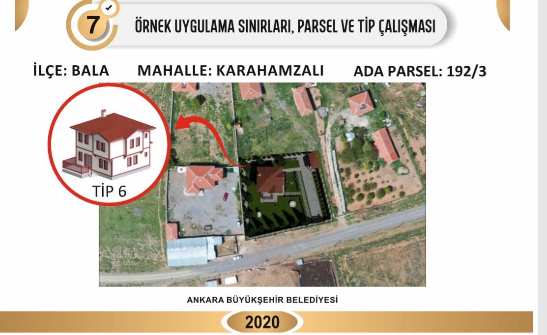 Köy evleri projesi başlıyor