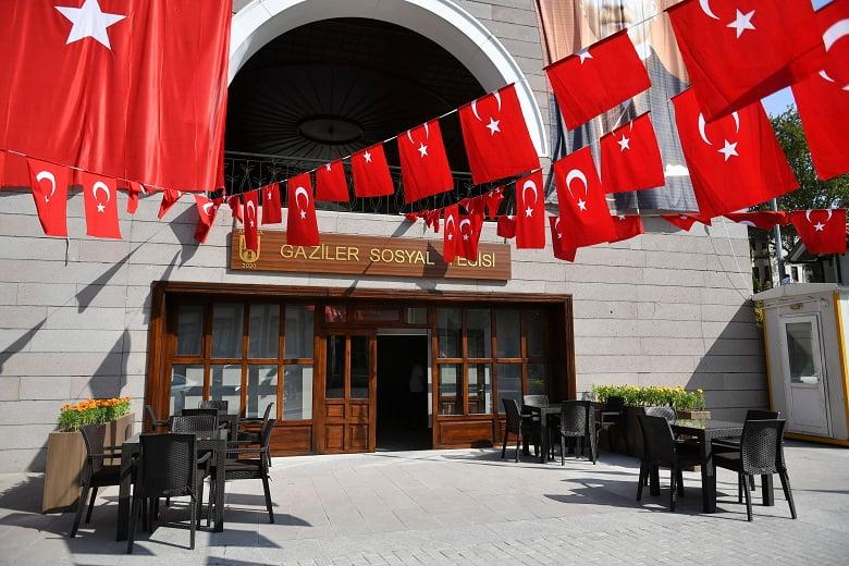 """""""Gaziler Sosyal Tesisi"""" 29 EKim Cumhuriyet Bayramı'nda Açılıyor"""