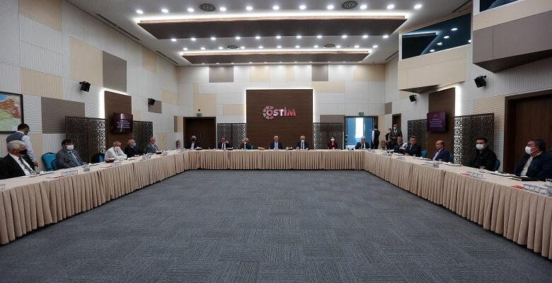 Başkan Yaşar'dan OSTİM'e moral ziyareti