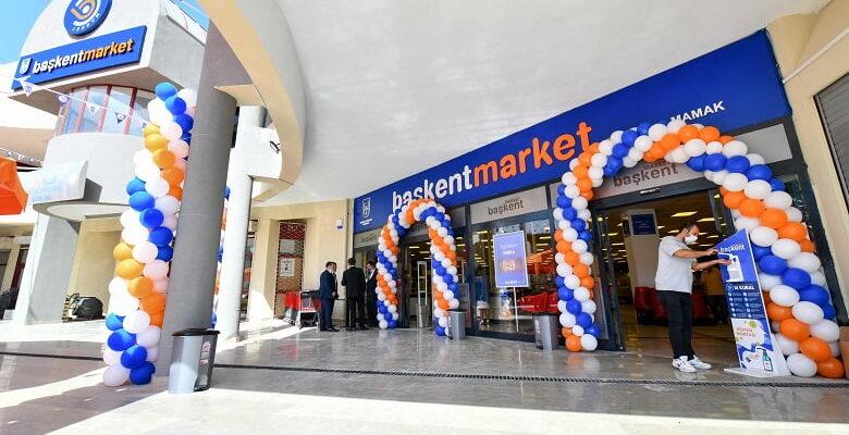 Başkent Market'in ikinci şubesi de açıldı