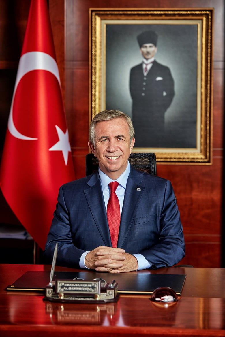 ABB Başkanı Mansur Yavaş'ın Atatürk'ün Ankara'ya gelişinin 101. yıl dönümünü kutlama mesajı