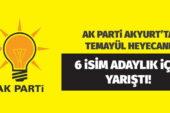 AK Parti Akyurt'ta temayül heyecanı
