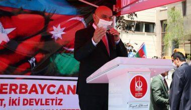 Altınok: Tüm imkânlarımızla can Azerbaycan`ın yanındayız