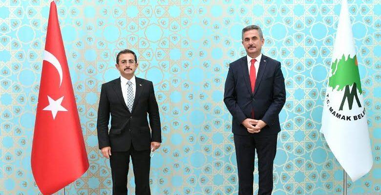 Tarım ve Orman Bakan Yardımcısı Mustafa Aksu Mamak Belediyesi'ne ziyarette bulundu
