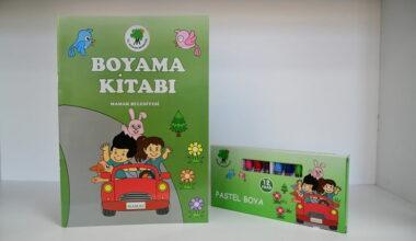 Mamak Belediyesi'nden çocuklara renkli sürpriz