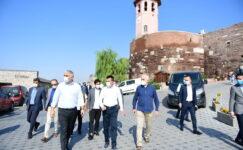 Bakan Ersoy'dan Ankara turu