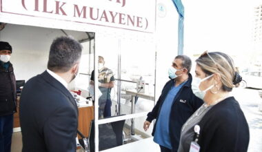 Pursaklar'da Koronavirüs Hastaneye Girmeden Teşhis Edilecek