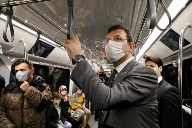 """İmamoğlu: """"Mecdeköy-Mahmutbey Metrosu Metrobüsün Yükünü günlük 50 Bin Azalttı"""""""