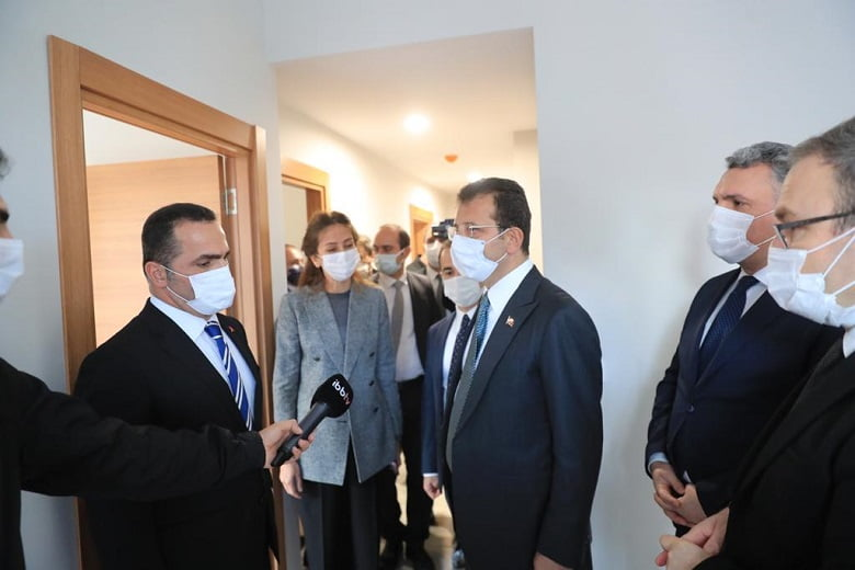 """İmamoğlu: """"Deprem konseyleri kurulmalı, süreç tek elden yürütülmeli"""""""