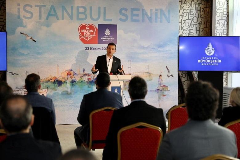 """Başkan İmamoğlu: """"Deprem konusunda 16 milyon kahramana ihtiyacımız var"""""""