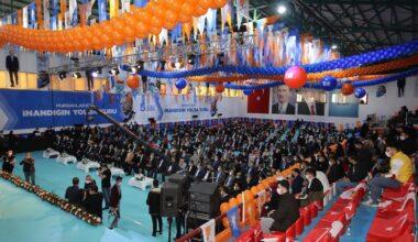 AK Parti Pursaklar İlçe Başkanlığı'na Türkayık yeniden seçildi