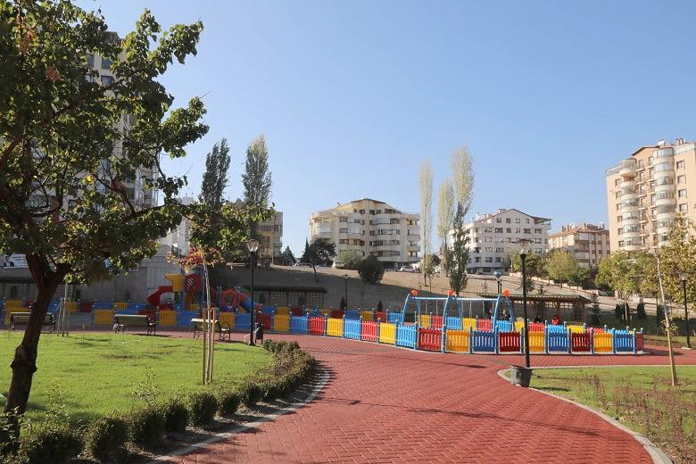 Çankaya'da 3 Park Birden Açılıyor