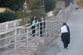 Çankaya'dan yeni merdivenli yol