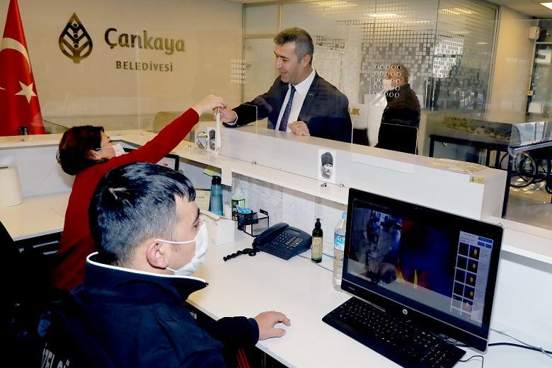 Çankaya Belediyesinden korona mücadelesine destek