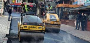 Çankaya'dan kent merkezine asfalt