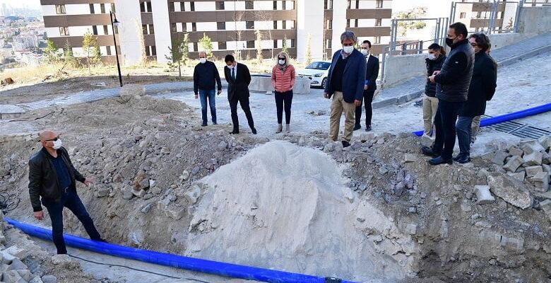 ASKi Mamak Altıağaç Mahallesi TOKİ Konutlarının Su Sorunlarını Çözmek İçin Devreye Girdi