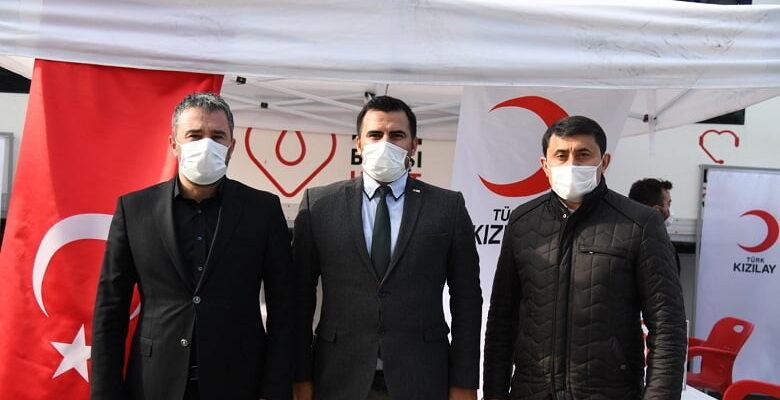 Pursaklar Belediye Başkanı Ertuğrul Çetin'den Kızılay'a Anlamlı Destek
