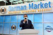 Yenimahalle'nin Derman Marketi hizmete açıldı