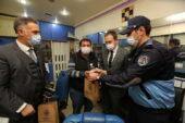 Esnafa maske ve dezenfektan desteği