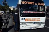 Çubuk ve Akyurt'ta hizmet veren ÖTA'larda Ankarakart dönemi