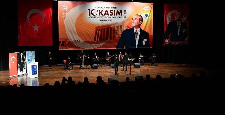 Mustafa Kermal Atatürk Mamak'ta Anıldı