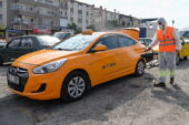 Altındağ'da dezenfekte çalışmaları sürüyor