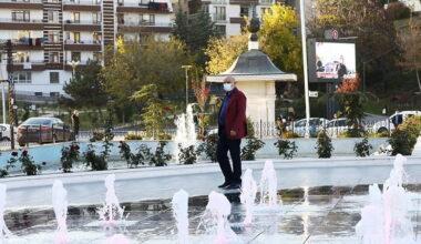 Keçiören'in renk cümbüşü: Türk Dünyası Su ve Gül Meydanı