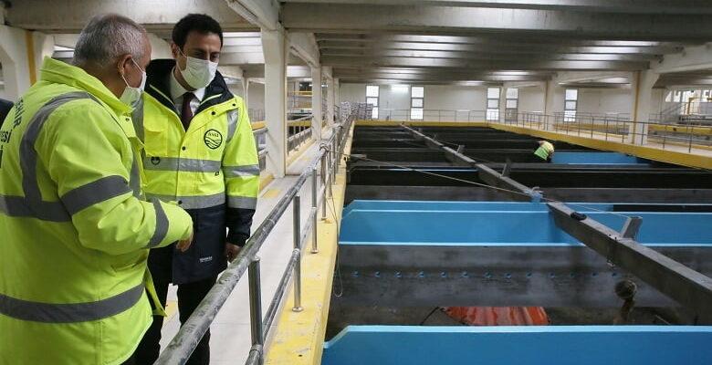 ASKİ İvedik içme suyu arıtma tesisinde revizyon çalışması