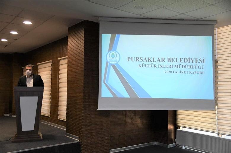 Pursaklar'da Yıl Sonu Değerlendirme Toplantısı