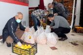 Çankaya'da 5 bin haneye meyve yardımı
