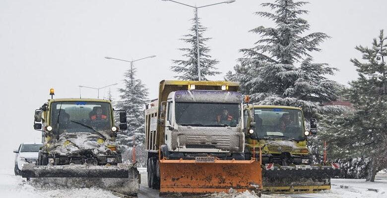 Büyükşehir kışa hazırlanıyor