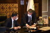 Bakan Kurum Pursaklar Belediye Başkanı Ertuğrul Çetin'i Ziyaret Etti