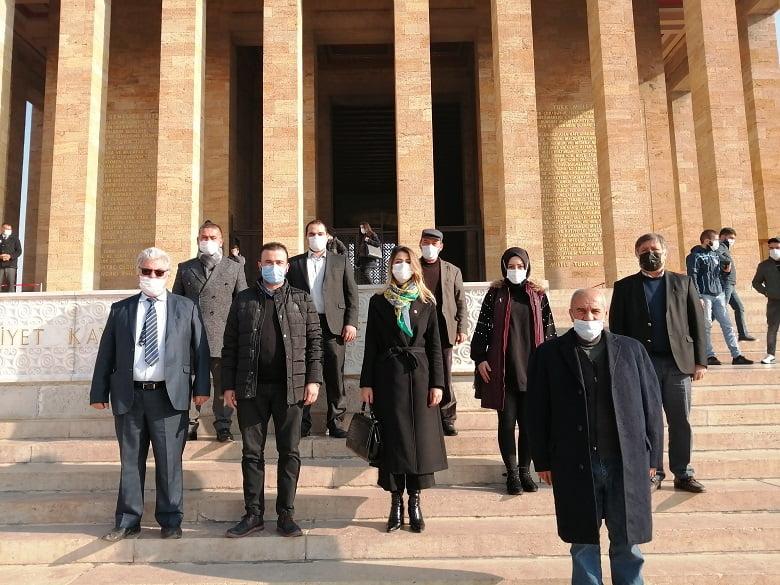 CHP Akyurt Ata'nın huzurunda