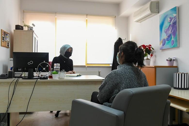 Psikolojik danışmanlık hizmetine yoğun ilgi