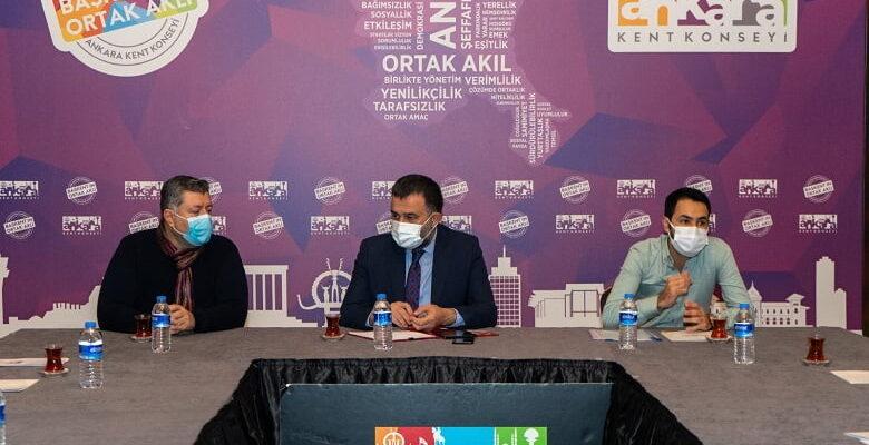 Kent Konseyi Ankara'nın geleceğini masaya yatırdı