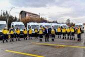 Büyükşehir ambulans ve diyaliz araç filosunu genişletti