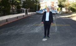 Başkan Altınok: 236 bin ton asfalt serdik, 57 bin metre bordür döşedik