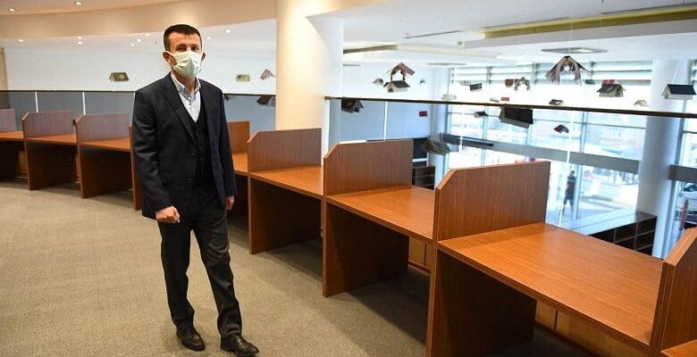 Yıldıztepe Kütüphanesi açılışa hazırlanıyor