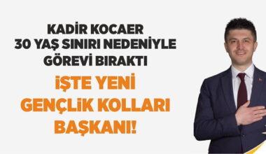 AK Parti Akyurt Gençlik Kolları Başkanı belli oldu