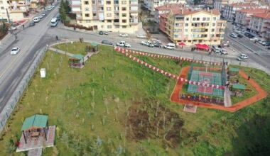 Keçiören Çaldıran Mahallesi yeni parkına kavuştu