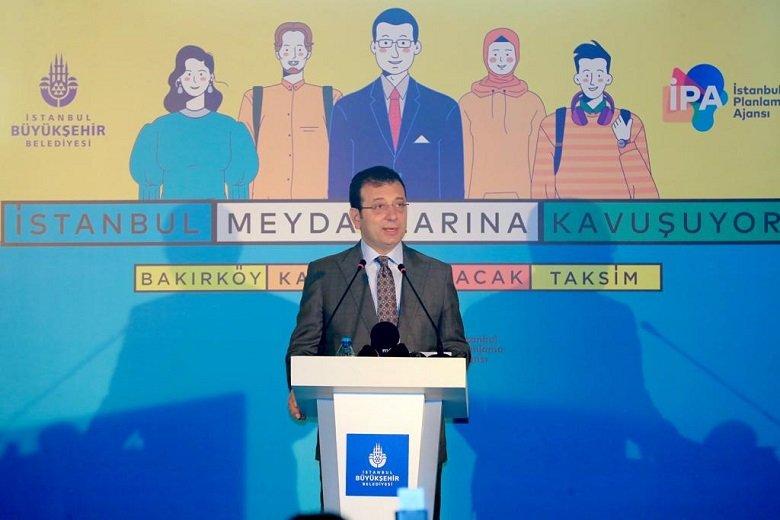 """İmamoğlu: """" Biz yaptık; o 'bizin' içerisinde bütün İstanbullular var"""""""