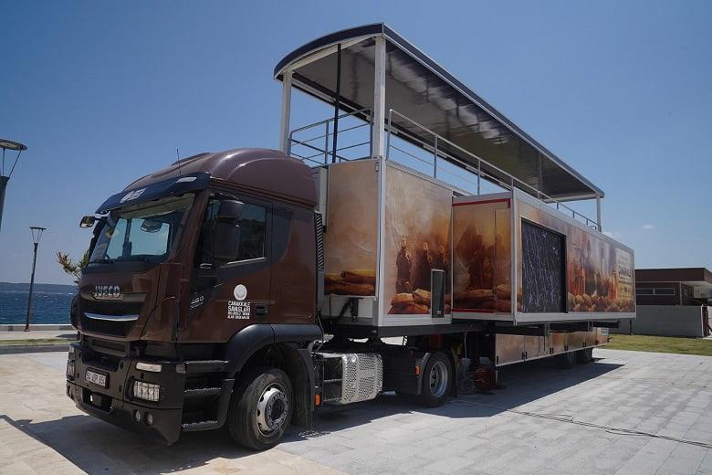 Çanakkale Savaşları mobil müzesi Gölbaşı'na geliyor