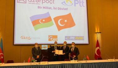 PTT ve Azerpost arasında işbirliği protokolü imzalandı